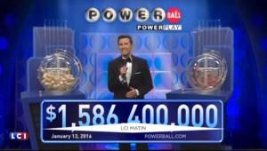 Etats-Unis : au moins un gagnant du super jackpot à 1,6 milliard de dollars