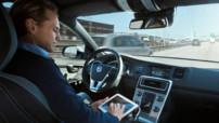 Une voiture autonome (sans conducteur) de Volvo, dans le programme