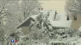 Grenoble sous un épais manteau de neige
