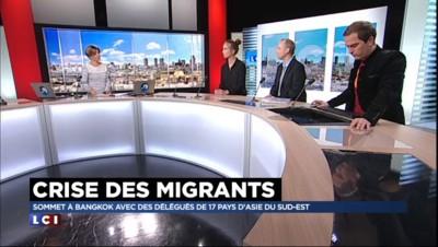"""Crise des migrants : """"plus de 800 000 demandes d'asiles en Europe l'année dernière"""""""