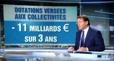 """Le 13 heures du 1 octobre 2014 : Budget 2015 : """"La note va �e douloureuse pour les r�ons"""" - 539.9647272491455"""