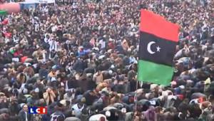 Libye : les images des manifestations à Tripoli
