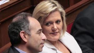 Michèle Tabarot et jean-François Copé sur les bancs de l'Assemblée