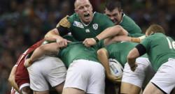 Rugby : Paul O'Connell et l'équipe d'Irlande lors du match contre le Canada, 19/9/15