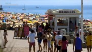 Terrasses bondées, plages envahies et hôtels remplis : Hossegor, paradis des vacanciers