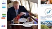 Un Mcdo pour célébrer ses 1.237 délégués : les internautes parodient Trump avec sa propre photo