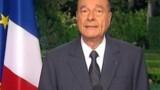 "Chirac ""prend acte"""