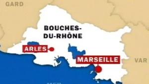 Carte Bouches-du-Rhône