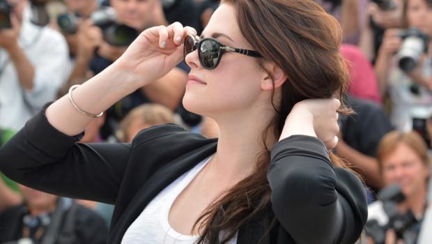 Kristen Stewart à Cannes 2012 pour le photo-call du film Sur la route