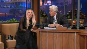 Lady Gaga Jay Leno