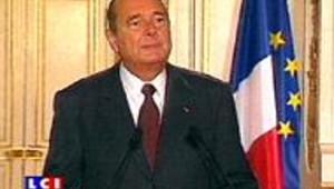 Les voeux empoisonnés de Chirac