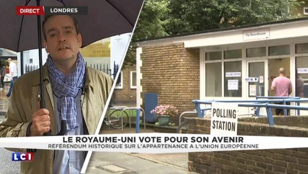 Référendum britannique : une affluence record dans les bureaux de vote