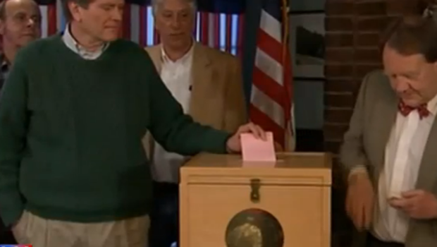 Dixville Notch aux Etats-Unis, 9 habitants votent