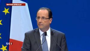 """Hollande : """"le président candidat est désormais candidat président"""""""