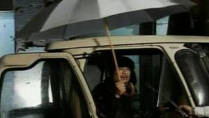 Le colonel Mouammar Kadhafi, le 22 février 2011, à la télévision libyenne.