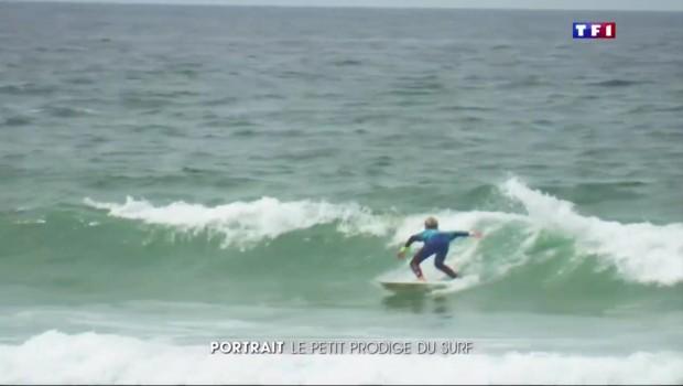 Prodige du surf à 13 ans, Killian Guerin est victime du syndrome de la vague