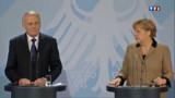 "Rencontre avec Ayrault : Merkel veut ""une France forte"""