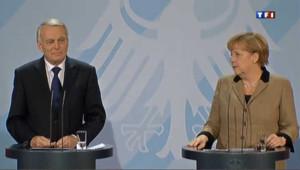 Ayrault rencontre Merkel dans un climat pesant