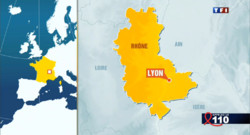 carte du Rhne Lyon infographie
