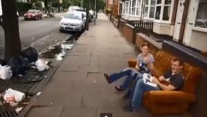 """Extrait de l'émission """"Benefits street"""" de l'émission Channel 4"""