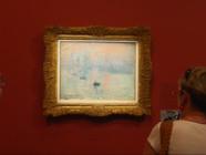 """Le 20 heures du 29 septembre 2014 : """"Impression soleil levant"""" de Claude Monet livre ses secrets - 1867.07"""