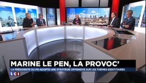 """""""Le Pen père et Le Pen fille c'est blanc bonnet et bonnet blanc"""" pour Olivier Duhamel"""