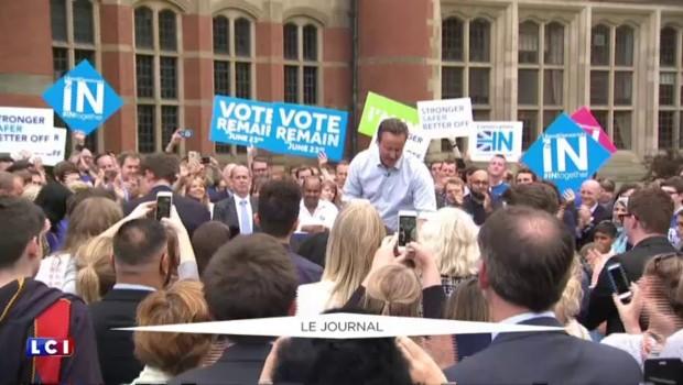 Référendum britannique : quel avenir pour David Cameron en cas de brexit ?
