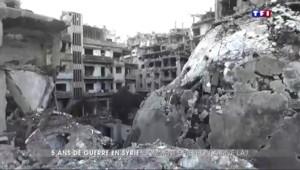 Syrie : retour sur cinq ans de guerre et de barbarie