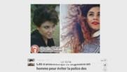 femme Iranienne port du voile raser la tete