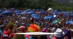 Frappé par Zika, le Brésil retrouve des couleurs grâce au carnaval de Rio