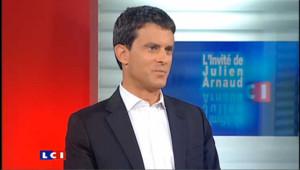 LCI - Manuel Valls est l'invitée politique de Julien Arnaud
