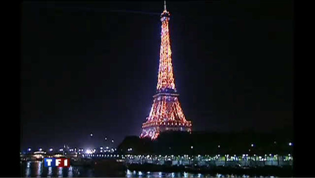 Les illuminations de la Tour Eiffel