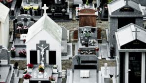 Un cimetière/Image d'archives