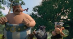 Astérix : le domaine des Dieux de Louis Clichy et Alexandre Astier