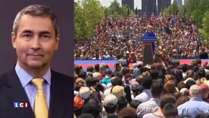 Etats-Unis : Hillary Clinton joue la carte de la proximité