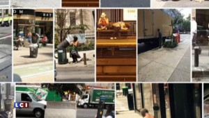 """New York : """"peek-a-boo"""", un album photo de sans-abris tenu par… des policiers"""