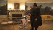 Quand le couple Obama reçoit R2D2 à la Maison Blanche