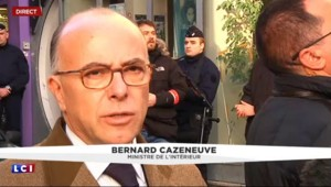 """Cazeneuve : """"Les policiers ont été extrêmement choqués"""" par l'attaque dans le 18e"""