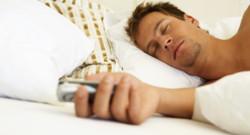 Dormir avec son smartphone
