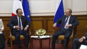 Le 20 heures du 6 décembre 2014 : Apaiser les tensions avec l'Ukraine : l'objectif de la rencontre Hollande-Poutine - 301.187
