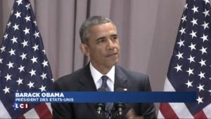 """Nucléaire iranien : """"La fin des sanctions améliorera leur vie"""", déclare Obama"""