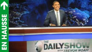 """Trevor Noah présente le """"Daily show"""" pour la première fois, le 28/9/15"""