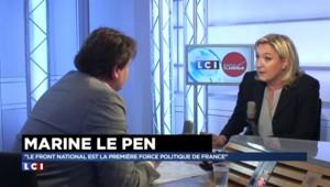 La réponse de Marine Le Pen à l'article de Libération sur le financement au FN