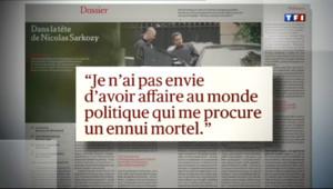 Le 20 heures du 6 mars 2013 : Nicolas Sarkozy fait son come back %u2026 m�atique - 1301.717