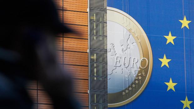 Près de la Commission européenne à Bruxelles/Image d'archives