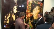 Sylvester Stallone s'expose au Musée d'art moderne de Nice