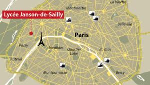 Un élève de seconde du lycée Janson-de-Sailly a été poignardé ce lundi après un de ses camarades.
