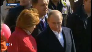1er mai : Poutine et Medvedev en tête du cortège à Moscou