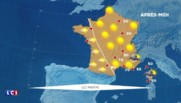 La météo du 5 mai : grand soleil sur l'ensemble du pays, quelques averses en Corse