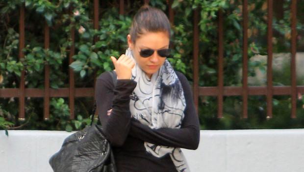 Mila Kunis, le 6/10/2011 à Los Angeles